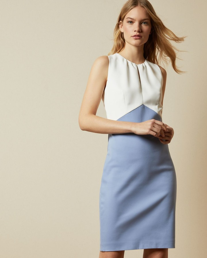 Ted Baker Fitted Mockable Dress