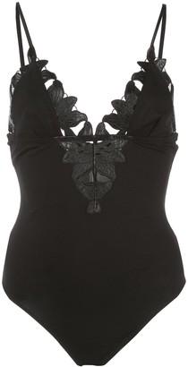 Fleur Du Mal Lily triangle bodysuit