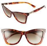 MCM Women's 57Mm Retro Sunglasses - Black