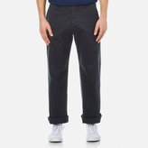 YMC Men's Thin White Duke Trousers Navy