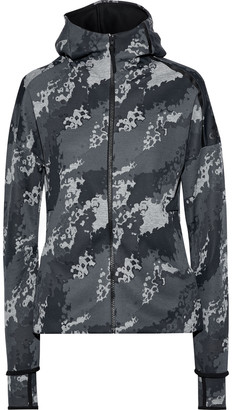 adidas Z.n.e. Printed Jersey Hooded Track Jacket