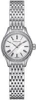 Hamilton ladies' stainless steel diamond bracelet watch