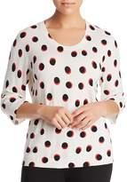 Marina Rinaldi Addetto Dot-Print Sweater