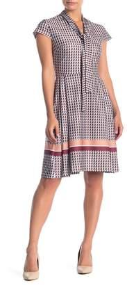Alexia Admor Blaise Pleated Fit & Flare Dress