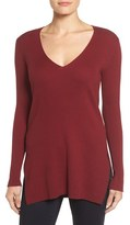 Vince Camuto Women's Ribbed V-Neck Sweater