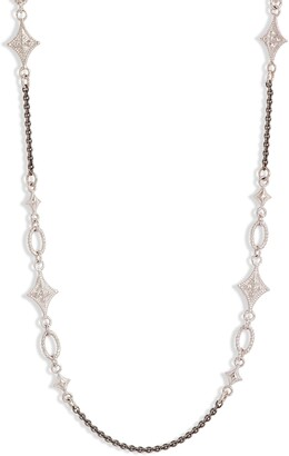 Armenta New World Crivelli Station Chain Necklace