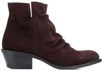 Fiorentini+Baker crinkled ankle boots