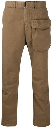 Paul & Shark Cargo-Pocket Cropped Trousers