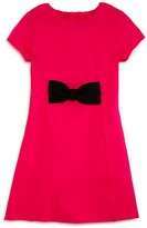 Kate Spade Girls' Ponté Knit Bow Dress - Sizes 7-14