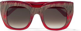 Thierry Lasry Intimacy 623 cat-eye acetate sunglasses
