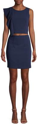 Black Halo Maple 2-Piece Top & Skirt Set