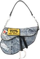 Christian Dior pre-owned Miss Diorella saddle hand bag