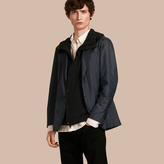 Burberry Technical Silk Jacket with Detachable Hooded Warmer