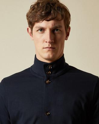 Ted Baker EXPRESO Cotton funnel neck jacket