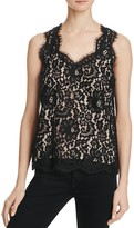Joie Top - Cina Lace Sleeveless