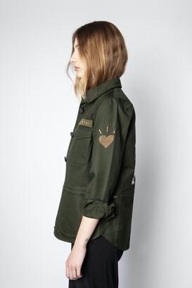 Zadig & Voltaire Tackl Militaire Jacket