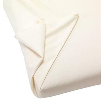 Camilla And Marc Naturalmat Organic Brushed Cotton Flat Sheet Crib, 75 x 110 cm