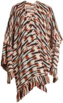 Missoni Fringed wool and alpaca-blend wrap