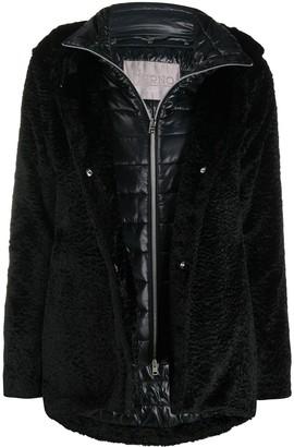 Herno Fleece Style Hooded Jacket