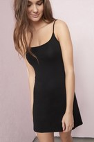 Garage Wide Scoop Neck Slip Dress