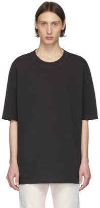 Maison Margiela Black Cotton T-Shirt