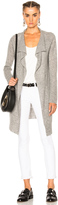 James Perse Thermal Stitch Cashmere Cardigan
