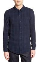 Velvet by Graham & Spencer Men's 'Abel' Slim Fit Long Sleeve Plaid Sport Shirt