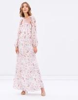 Miss Selfridge Lace Floral Maxi Dress