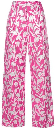 Stine Goya Carnation Jacquard Trousers