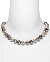 Majorica Multi Simulated Pearl Necklace, 17