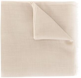 Agnona Fine Knit Cashmere Scarf