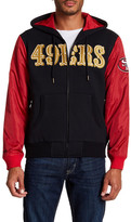 Mitchell & Ness San Francisco 49ers Hooded Jacket