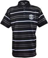 Guinness Golf Polo Shirt With Grey And White Stripes