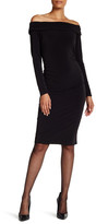 Laundry by Shelli Segal Off the Shoulder Matte Jersey Dress