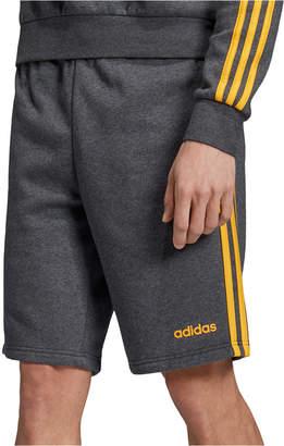 "adidas Essentials Men Three-Stripe 10"" Fleece Shorts"
