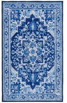 """Thumbnail for your product : Seventh Studio Blue Medallion 27""""x 45"""" Accent Rug Bedding"""