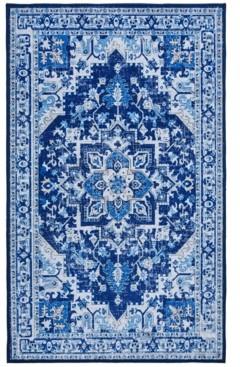 "Seventh Studio Blue Medallion 27""x 45"" Accent Rug Bedding"