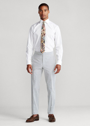 Ralph Lauren Cotton Seersucker Suit Trouser