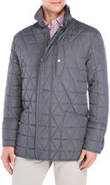 Andrew Marc Quilted Auburn Field Jacket