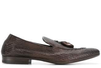 Henderson Baracco weaved loafers