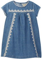 Lucky Brand Embroidered Chambray Dress (Little Girls)