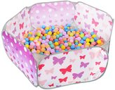 Sugar Q SPT012 Kids Ball Pit Playpen Pool Discovery Play Tent with 25 Plastic Balls