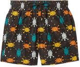 Vilebrequin Mahina Mid-Length Printed Swim Shorts