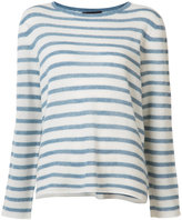 Nili Lotan striped cashmere jumper
