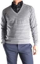 Mauro Grifoni Men's Grey Wool Sweater.