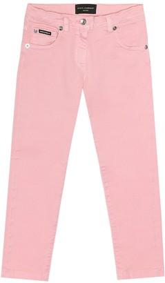 Dolce & Gabbana Kids Skinny jeans
