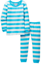 Coccoli Striped Pajama Set (Toddler, Little Kids, & Big Kids)