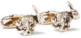 Paul Smith Rabbit Gold-tone Cufflinks - Gold