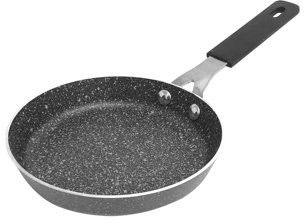 "Granite Stone Diamond Mineral Infused 5.5"" Single Egg Nonstick Frying Pan"