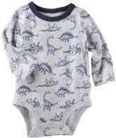 Osh Kosh Dino Print Bodysuit